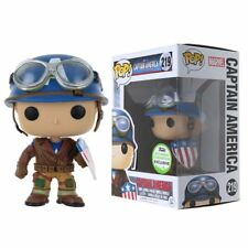 Funko Pop Marvel Captain America ECCC Spring Limited Version PVC Figure Toy Gift