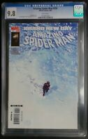 Amazing Spider-Man #556 Marvel Comics CGC 9.8 White Pages