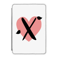"X Heart Alphabet Case Cover for Kindle 6"" E-reader - Valentines Day Girlfriend"