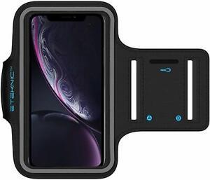 Sports Arm Band Mobile Phone Holder Case Running Gym Armband Exercise ETEKNIC