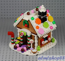 LEGO - Gingerbread House 40139 - 100% Complete 2015 Exclusive XMas Holiday Candy