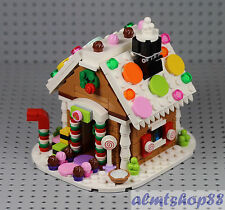 LEGO - Gingerbread House 40139 - 100% Complete 2015 Exclusive XMas Holiday