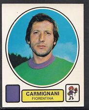 PANINI CALCIATORI FOOTBALL Adesivo 1977-78, N. 53, FIORENTINA-CARMIGNANI