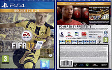 FIFA 17 DELUXE EDITION - PS4 DISPONIBILE - NUOVO SIGILLATO, ITALIANO, NO IMPORT!