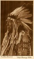 THE VANISHING RACE - CHIEF RUNNING FISHER - GENUINE - PHOTOGRAVURE 26