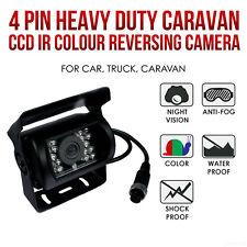 9V-36V 4Pin Bus Truck Heavy Duty Waterpoof IR Night Reversing Camera+10M Cable
