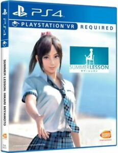 Summer Lesson Miyamoto Hikari Edition PS4 VR  Asian Eng
