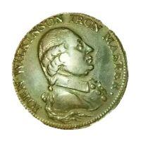1792🔹️John Wilkinson 'Iron Master' Halfpenny Token Coin GB UK