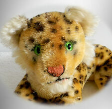 Steiff  stuffed animal Leopard with button in ear - FREE SHIPPING