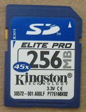Elite Pro Kingston Technology 256 MB SD 45x Flash Memory Card 30572-001.A00LF