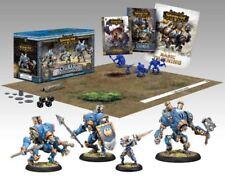 WARMACHINE Battlegroup Cygnar Plastic Miniatues Kit 4 X Figures. Sci Fi 40k etc
