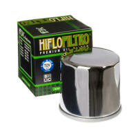 HifloFiltro Oil Filter Chrome for Honda/Triumph/Yamaha/Kawasaki/Suzuki/MV Agusta