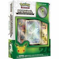 Celebi Mythical Collection Pin Box POKEMON TCG Generations Pack 20th Anniversary