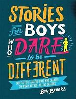 NEW Stories for Boys Who Dare to be Different Hardcover (Free Shipping)