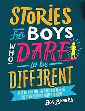 NEW Stories for Boys Who Dare to be Different Hardcover Free Shipping
