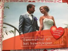 NEDERLAND 2013 HUWELIJKSET BU euromunten