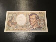 France French 200 Cent Francs Banknote 1992 M.132 Rare 928715 Circulated
