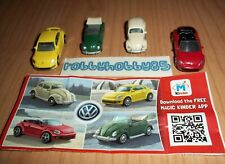 VOLKSWAGEN BEETLE COMPLETE SET WITH ALL PAPERS KINDER SURPRISE 2015/2016