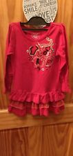 Red Age 6 Dress Tiered Tunic Vgc