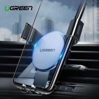 Ugreen Car Phone Holder Car Vent Gravity Phone Mount for iPhone Samsung Black