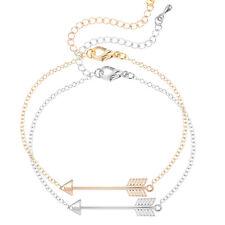 Unique Style Alloy Arrow Charm Bracelets & Bangle For Women Fashion Jewelry Gift