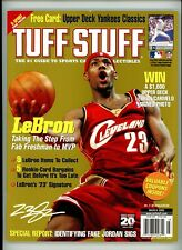 Tuff Stuff Magazine March 2005 LeBron James NM