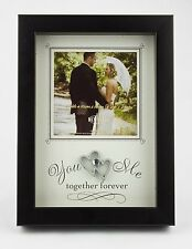YOU & ME Special Moments Wedding Photo Frame for 4x4 inch photograph, Ideal Gift