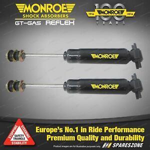 Pair Front Monroe Reflex Shock Absorbers for MAZDA E SERIES Van 84-10/97