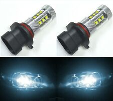 LED 80W 9005XS HB3A White 6000K Two Bulbs Head Light High Beam Replacement