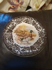 Royal worcester Palissy GAME SERIES.  Side ~ Dessert plat. Diameter 6 5/8 inches