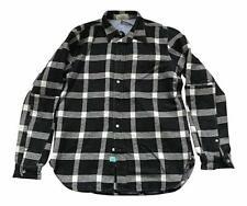 Paul Smith RED EAR Black White check Long Sleeve Shirt   - M -  p2p 21