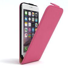 Tasche für Apple iPhone 6 / 6S Plus Flip Case Schutz Hülle Handy Cover Pink