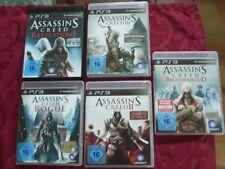 PS 3 Sammlung Assassins Creed,guter Zustand