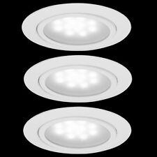 Paulmann Micro Line LED Möbel Einbauleuchten  Weiß 2700K Strahler Spots  998.15