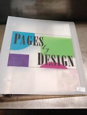 Very RARE Pages by Design Recipe Book and Class Packs with templates