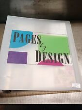 Pages by Design Class Packs AND Recipe Book, Retired, Very Rare TREASURE