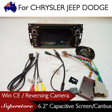 6.2 inch Car DVD GPS Car Radio Navigation Head Unit For JEEP