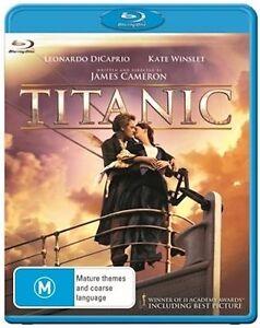 TITANIC (Blu-ray, 2012) : NEW