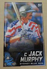 2019/20 Sydney Blue Sox (Aussie Baseball) JOHN/JACK MURPHY-Oklahoma City Dodgers