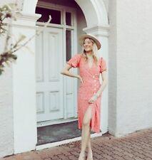 Faithfull the brand Fran floral-print crepe midi wrap dress
