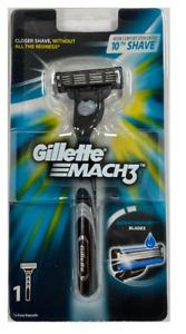 Gillette Mach3 Razor Blade Handle - Holds Mach3 and Turbo Blades!