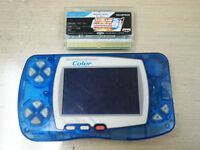 Bandai Wonderswan Color Blue Console Japan with WSC Super Robot Wars Compact 3