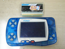 Bandai Wonderswan Color Blue Console Japan with WSC Super Robot Wars Compact 3