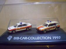 75 Herpa 1/87 Michelin Man Bib-Car-Collection 1997 VW Notarzt set PC