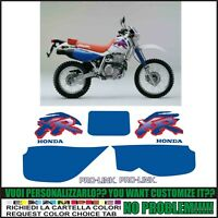 kit de pegatinas stickers compatible xr 600 r 1993