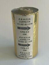 More details for hot foil gold x 105mm by 122 mtr x 1 roll