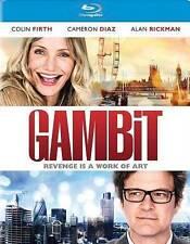 Gambit (Blu-ray, 2014) [DISC ONLY] Colin Firth, Alan Rickman, Cameron Diaz