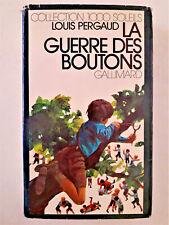 """""""La guerre des boutons"""" / Louis Pergaud (1975)"""