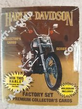 Harley Davidson 1993 Collectors Vintage Collectable -100 x Cards Limited Edition