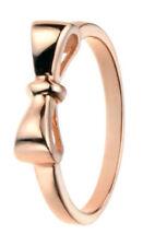 Anillos de joyería de oro rosa plata